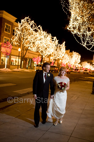 What better way to remember a December 19th Wedding than with photographs like this.